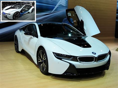 Latest Super Crystal White Bmw I8 Luxury 2 Seater Car