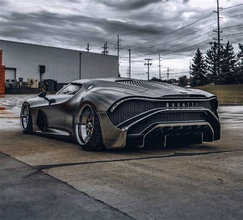 Slammed Bugatti La Voiture Noire Looks Like the Most ...