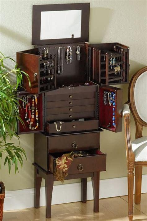 jewelry armoire ideas  pinterest