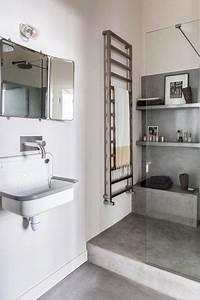 Decoration De Salle De Bain : d co salle de bain photos de salles de bains qui optimisent l 39 espace c t maison ~ Teatrodelosmanantiales.com Idées de Décoration