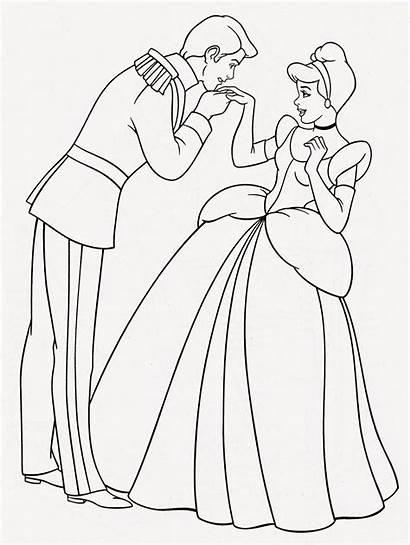 Cinderella Coloring Pages Printable Princess Disney Filminspector