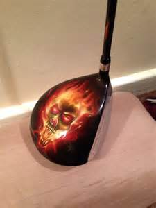Custom-Painted Golf Drivers