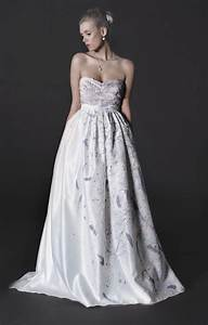 exquisite etsy wedding dresses onewed With painted wedding dress