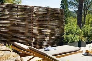 Brise Vue Pour Terrasse : jardin terrasse panneaux brise vue pour se cacher des ~ Dailycaller-alerts.com Idées de Décoration