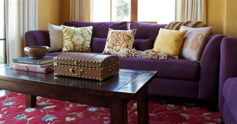 purple sofa decor ideas to mix match your living room full home living