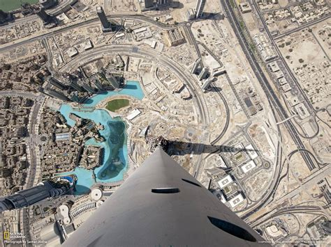 Stunning View From The Top Of Burj Khalifa, Dubai
