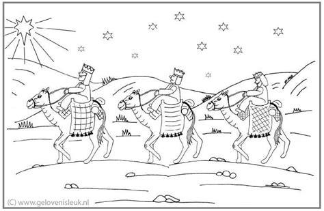 De Wijzen Uit Het Oosten Kleurplaat by Wijzen Uit Het Oosten Op Reis Met De Kamelen Clipart