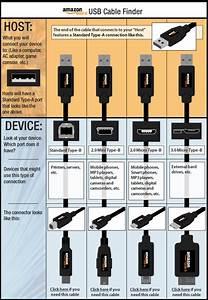 Amazon Com  Amazonbasics Usb 2 0 Cable