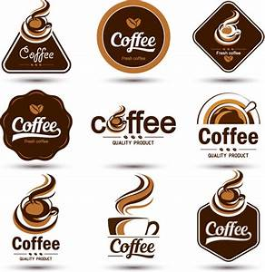 original design coffee labels vector free vector in With coffee label design template