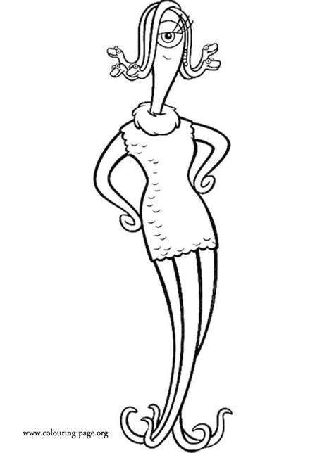 monsters  celia mae coloring page