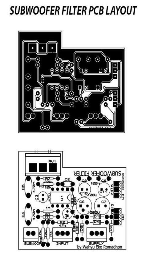 subwoofer filter  complete regulated power supply   usefull pinterest placas