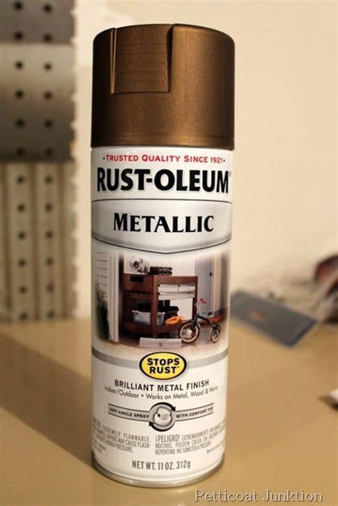 bronze spray paint antique clock gold rust oleum shiny glass brass metallic wall change sprayed pendulum salvage saturday circle around