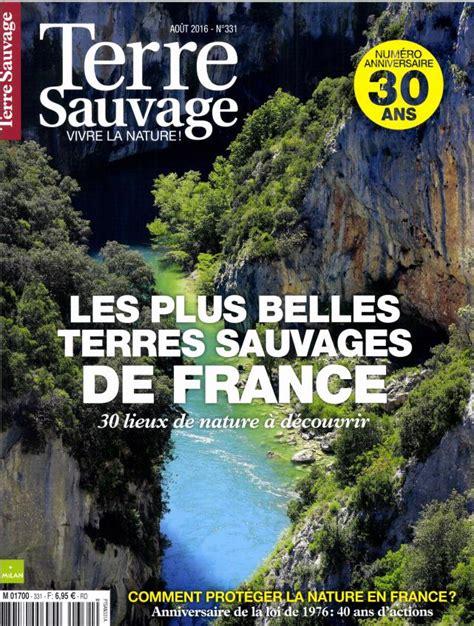 abonnement terre sauvage intermagazines
