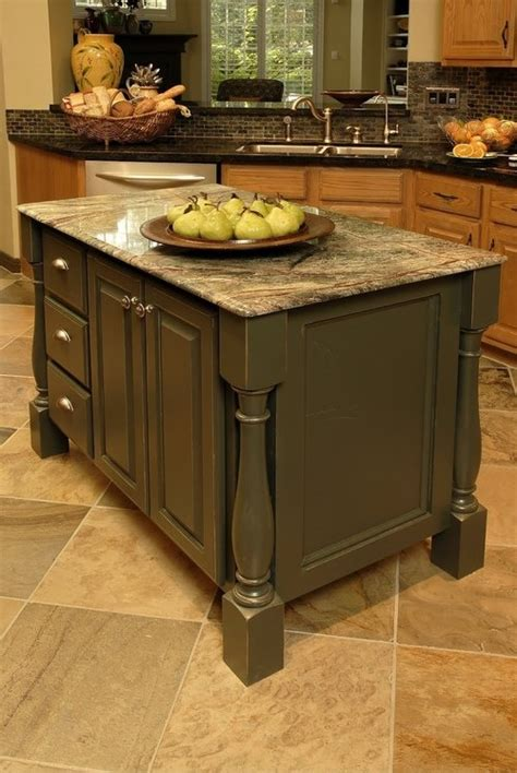 shaped kitchen islands an oddly shaped kitchen island