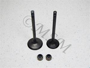 Yamaha New K U0026l Engine Intake  Exhaust Valve Set W   Seals A