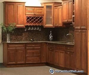 RTA Kitchen Cabinets - Coffee Glaze - RTA Cabinet Hub