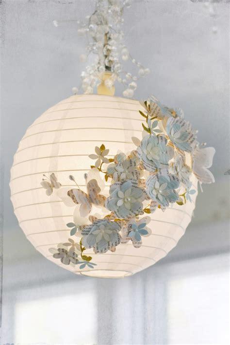 tuto luminaire boule fleurie sur notre