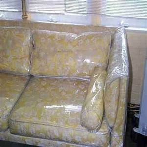 Clear vinyl furniture slipcovers pictures to pin on for Sectional sofa plastic covers