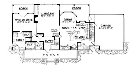 one house plans with large kitchens the country kitchen 8205 3 bedrooms and 2 baths the