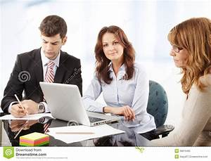 Business People Working In Group Royalty Free Stock Photo ...