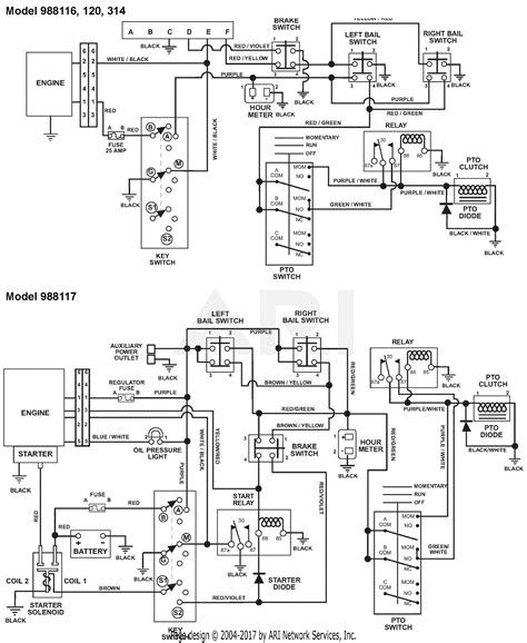 Gravely Walk Wiring Diagram by Gravely 988117 000101 002999 Recoil Pro Steer 52