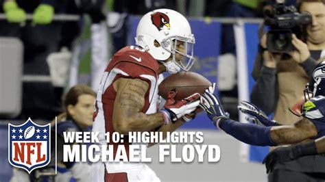 michael floyd highlights week  cardinals