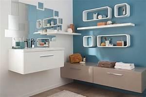 10 idees pour decorer sa salle de bains du sol au plafond With salle de bain design avec castorama salle de bain