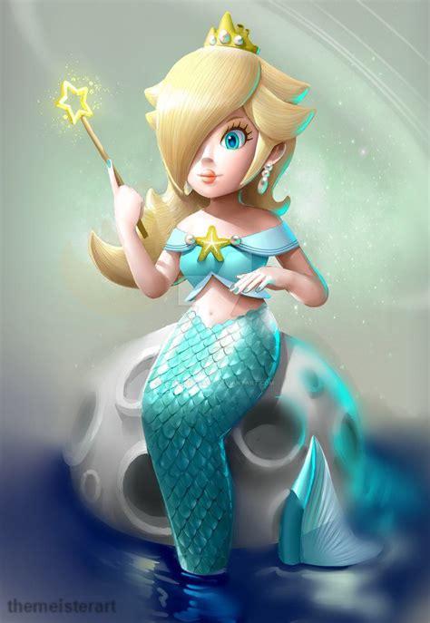 mermaid rosalina  themeisterartdeviantartcom