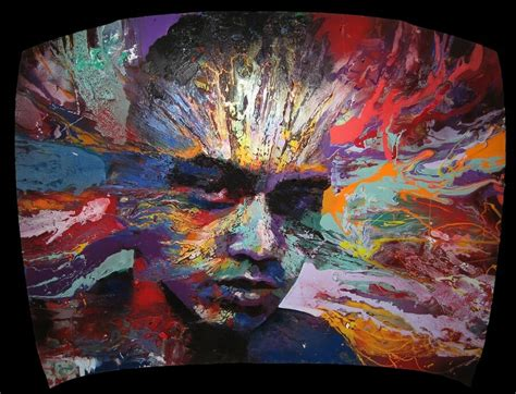 powerful colors  portrait artists  creative feeling