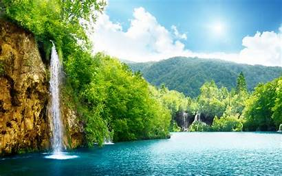 Nature Desktop Background Waterfall Scenery Pc Laptop