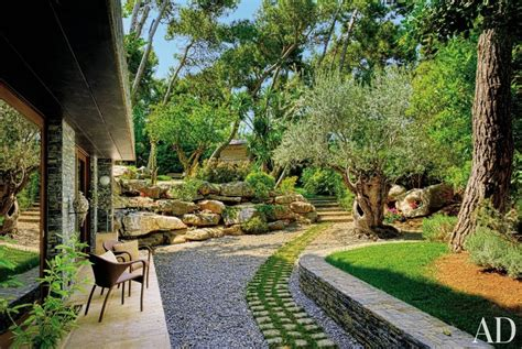 rustic landscaping rustic garden by javier barba ad designfile home decorating photos architectural digest