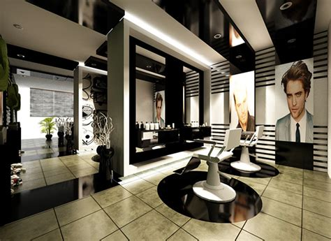 Modern Barber Shop Design Ideas by Modern Barber Shop Interior Home Decorating Ideas
