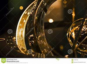 Ancient Astronomical Device Detail Stock Image - Image ...