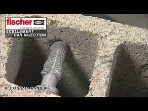 Cheville Parpaing Creux Charge Lourde : fixations chimiques youtube ~ Melissatoandfro.com Idées de Décoration