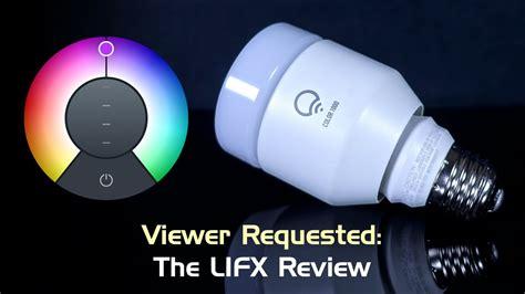 review lifx color 1000 smart led bulb 2016