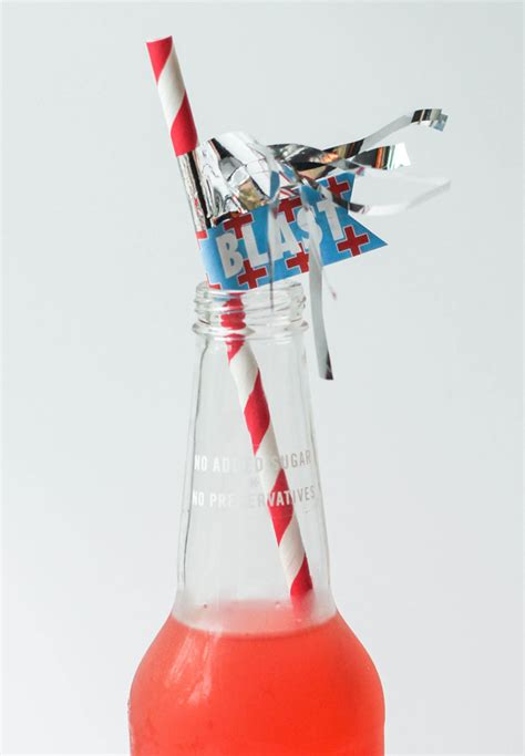 firecracker straws  subtle revelry