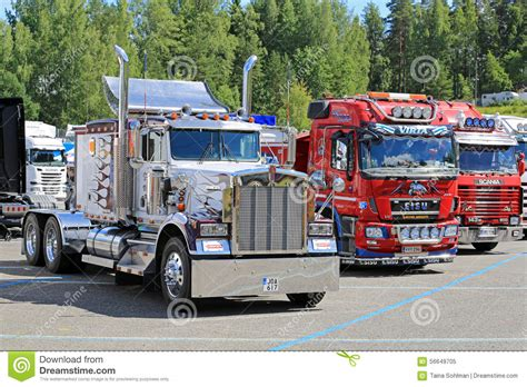 classic kenworth trucks classic kenworth and finnish cab over show trucks