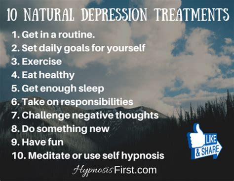 natural remedies  depression hypnosis downloads