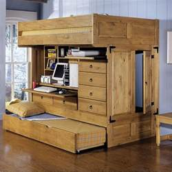 6 Drawer Dresser Plans by Powell Rustica All In One Full Loft Bed With Storage And