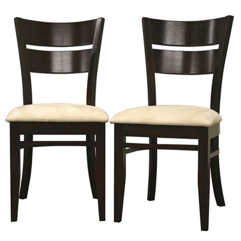 grace brown wood dining chair dcg stores