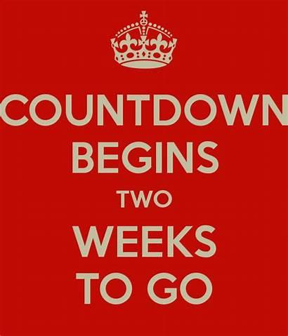 Weeks Countdown Final Until Deadline Begins November