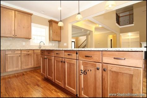typical kitchen island height standard kitchen counter height for raleigh new homes 6463
