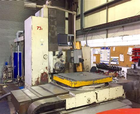 union bft horizontal boring milling machine