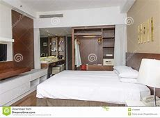 Luxurious Modern Hotel Room Stock Photo Image of