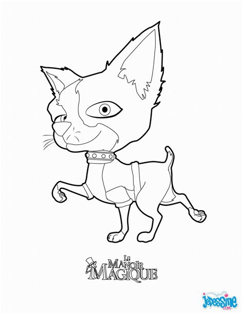 house  magic coloring pages