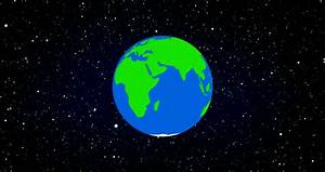 Cartoon Earth Spinning Stock Footage Video 503110 ...