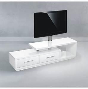 Meuble Tv Design 170 Cm Blanc NATURA 170H IWW Premium
