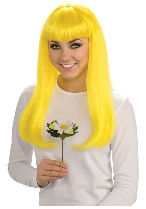 smurfette wig womens smurf costume accessory