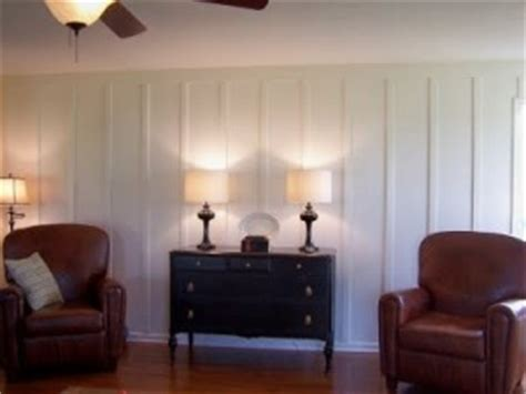 board and batten interior wainscoting adds character to any decor