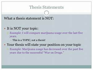 research topic statement examples